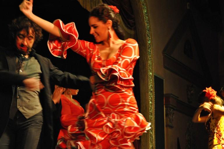 Enjoy live flamenco at the Ana Maria bar