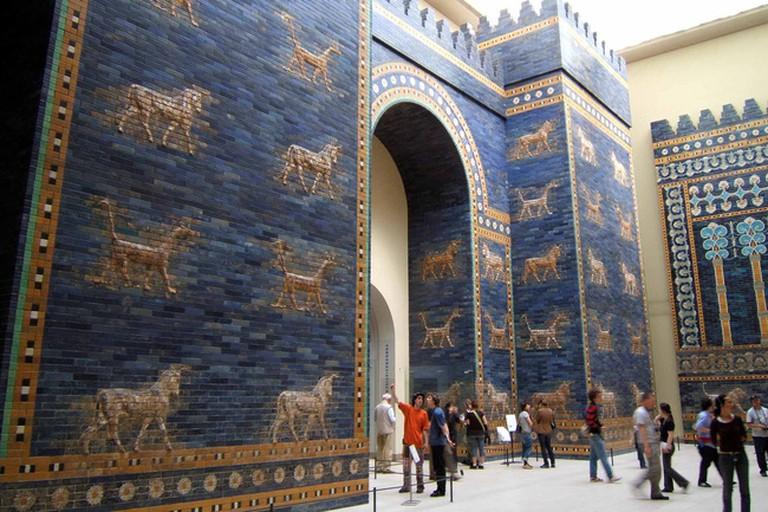 Ishtar Gate of Babylon in Berlin