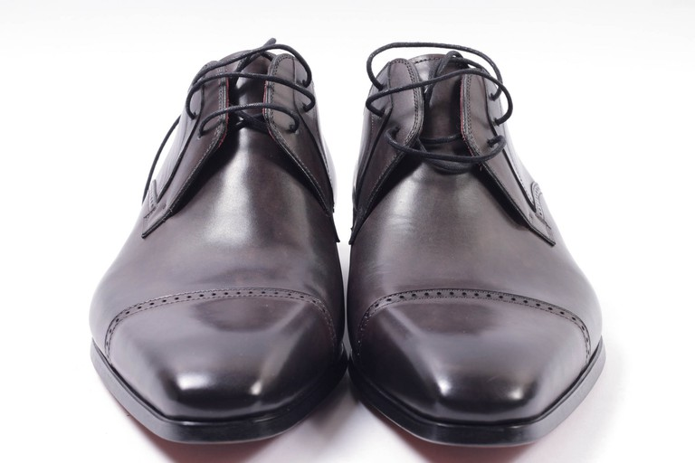 Look the part with leather brogues