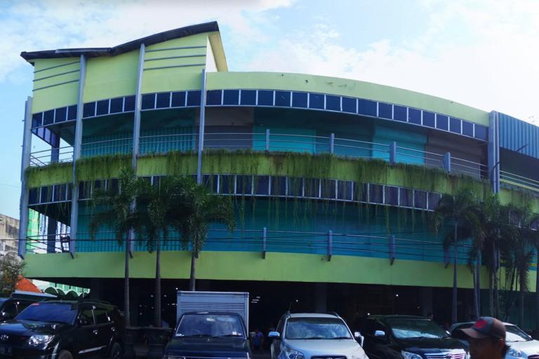 Genteng Market in Surabaya, Indonesia