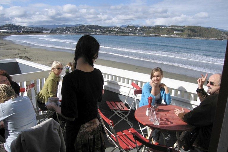 Maranui Cafe on Lyall Bay