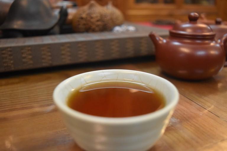 Chinese tea shop