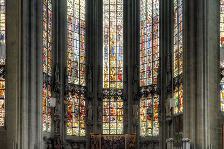 Windows at St Maria zur Wiese, Soest, Germany