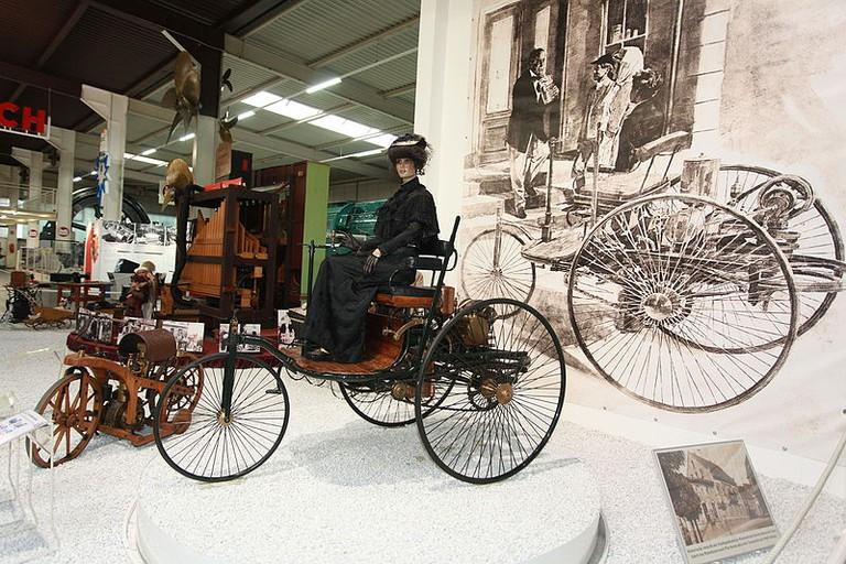 Benz Patent-Motorwagen 1886 Modell 1 in the Auto und Technik Museum, Sinsheim