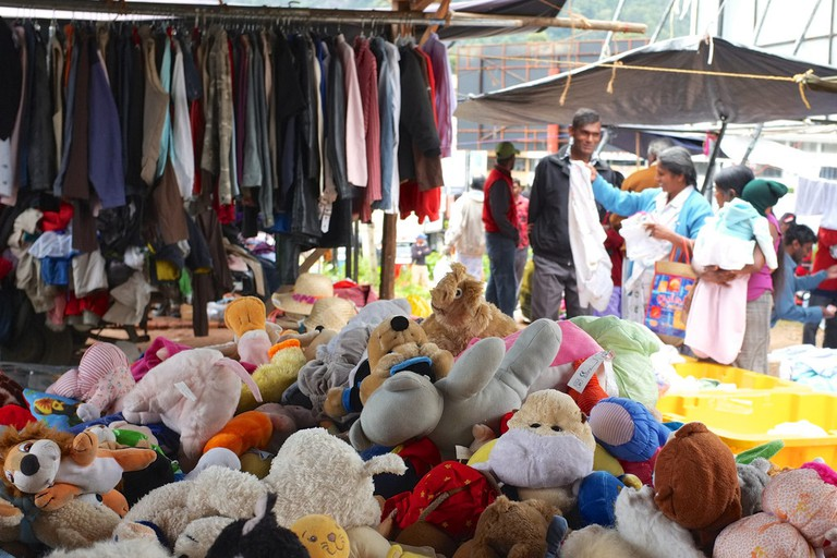 Winter Market in Nuwara Eliya