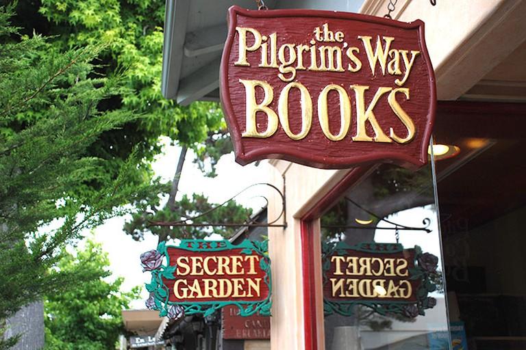 Pilgrims Way Community Bookstore and Secret Garden, Carmel-by-the-Sea