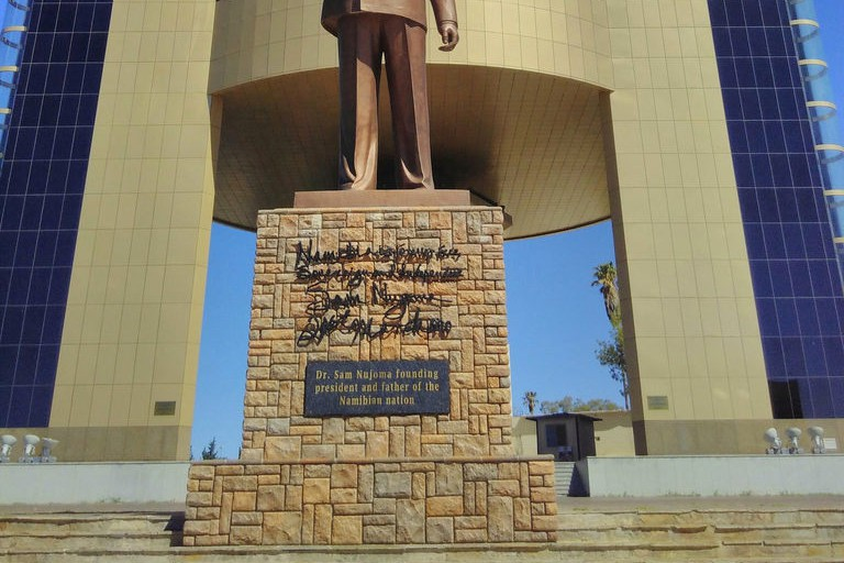 Statue of Sam Nujoma