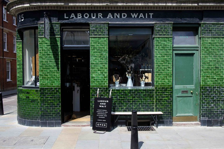 Labour & Wait's shop in Redchurch Street