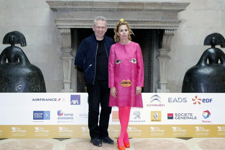 Agatha Ruiz de la Prada and Jean-Paul Gaultier