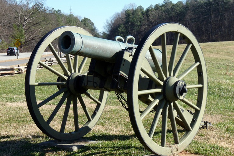 Cannon in Kennesaw Battlefield Park