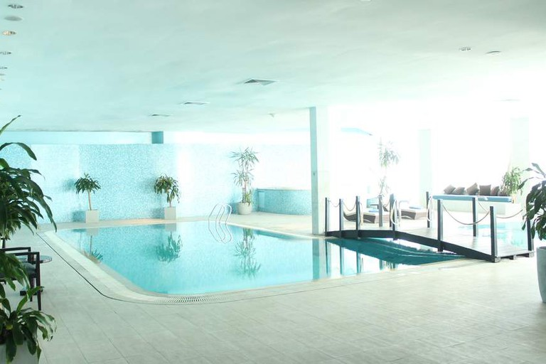 Indoor pool at O Spa by Kenzi