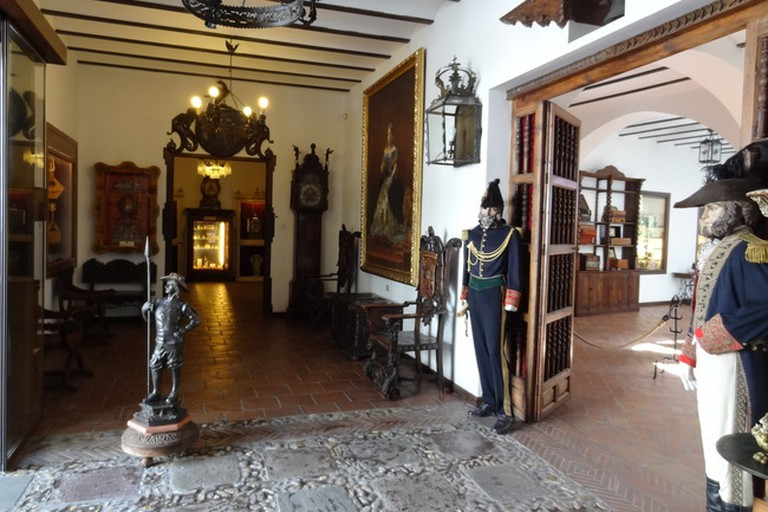 Quirky exhibits in Ronda's Lara Museum