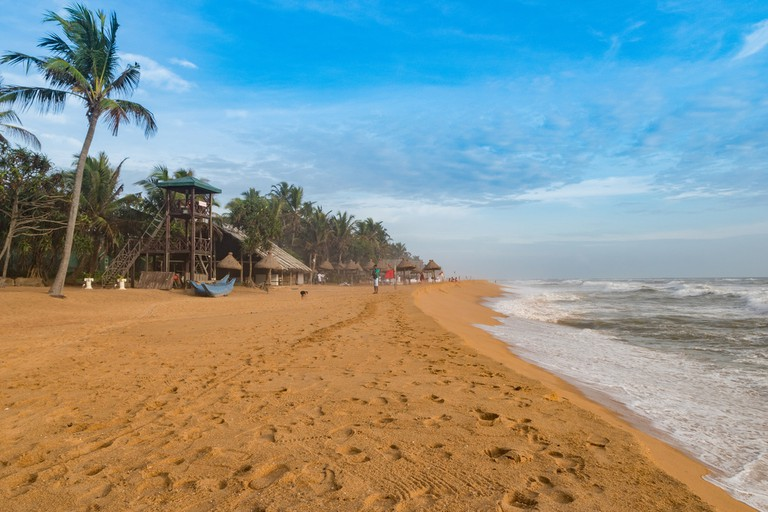 Mount Lavinia Beach in Colombo