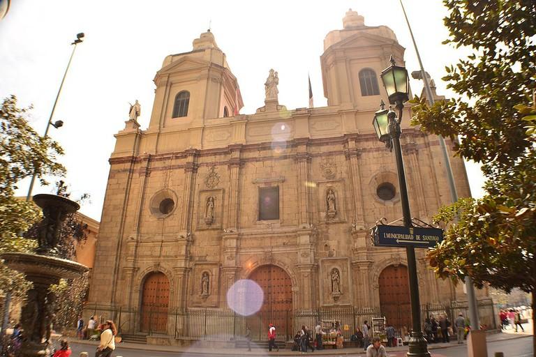 Santiago Domingo Church in Santiago
