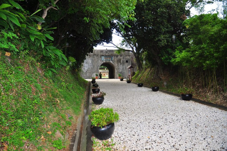 Entrance to Hobe Fort