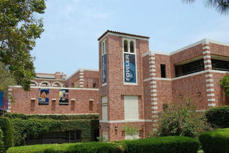 The Fowler Museum at UCLA, from the south-west side