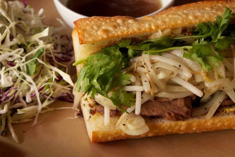 Pho French Dip Banh Mi at The Pig and the Lady
