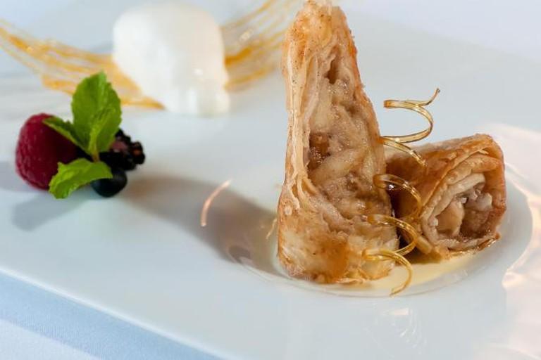 Food at Villa Mozart