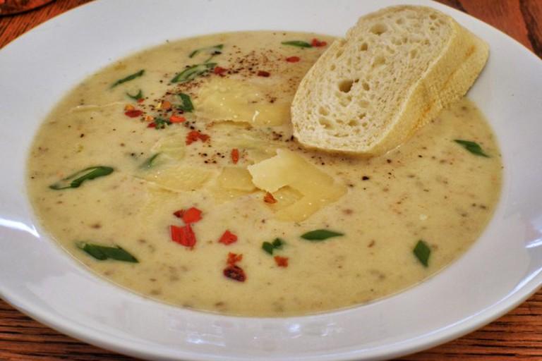Cheese and Potato Soup