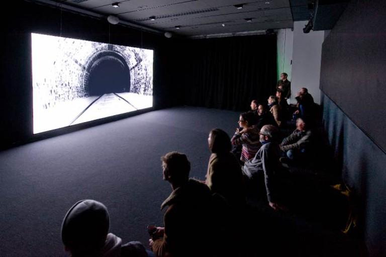 John Smith, White Hole, 2014. Installation view: Tyneside Cinema, 2014
