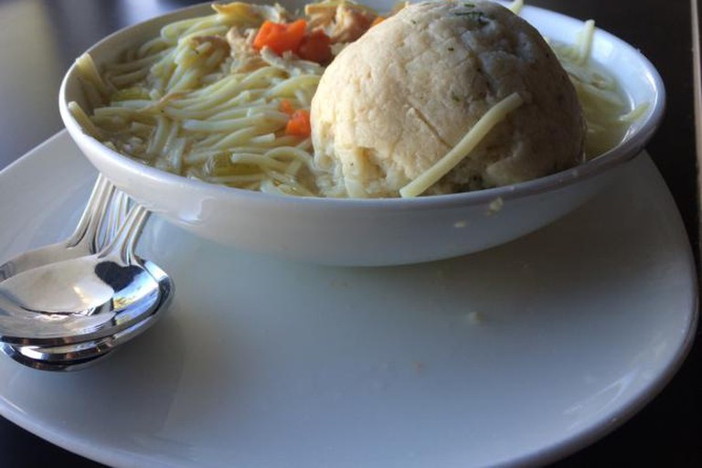 Matzoh Ball at Lovi's Delicatessen
