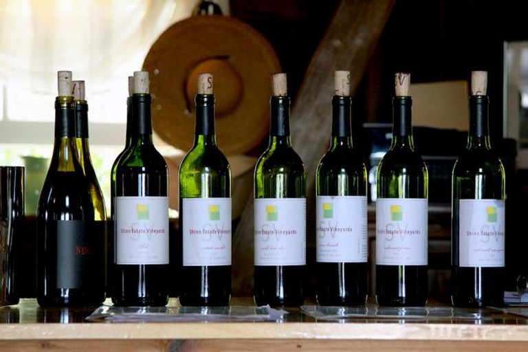 Wine at Shinn Vineyard