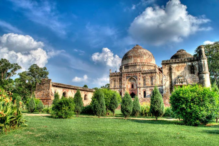 Lodhi Gardens on a bright sunny day