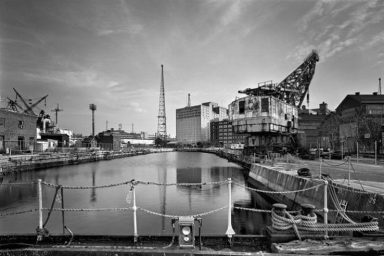 Dry dock 3 from the book: The Brooklyn Navy Yard