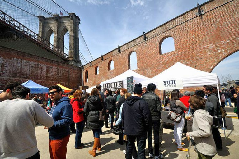 Smorgasburg at Brooklyn Bridge Park