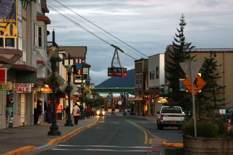 Charming downtown Juneau