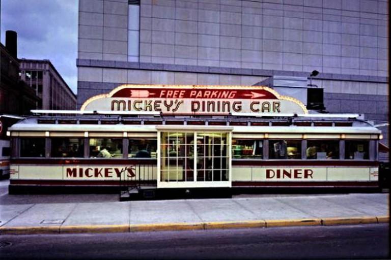 Mickey's Diner Exterior