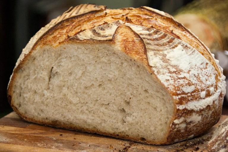Fresh Sourdough Loaf