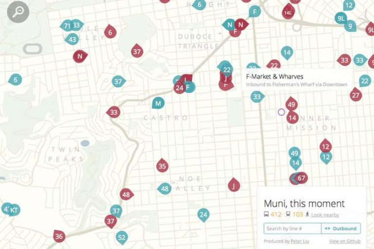 MUNI buses get access to almost every corner of the city