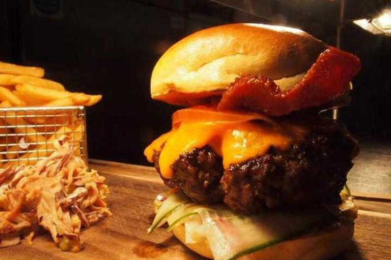 The Jam Burger