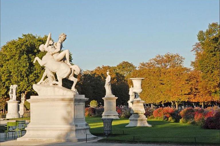 Jardin des Tuileries by Dalbera