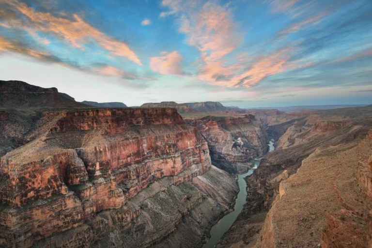 Toroweap Sunrise at the North Rim of the Grand Canyon