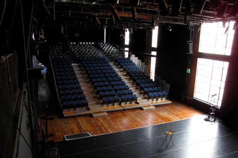 Interior of Z Space's theatre
