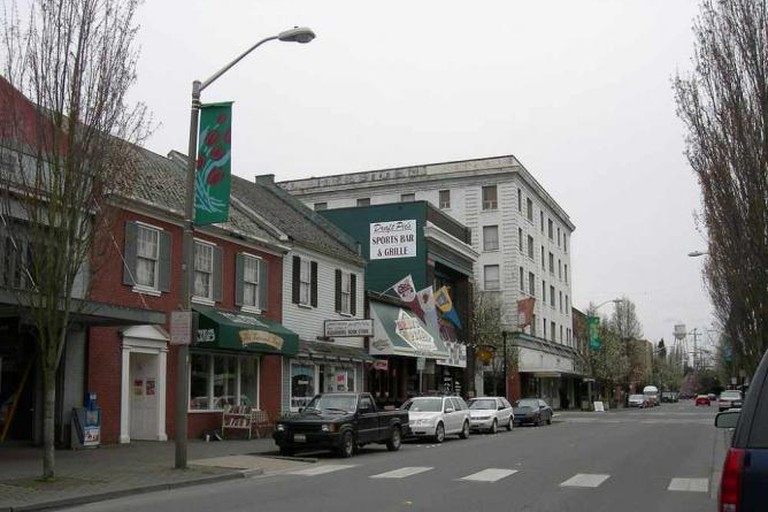 South First Street in Mount Vernon