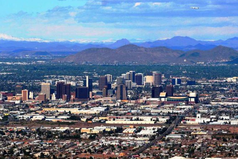 Gilbert is a suburb of Phoenix