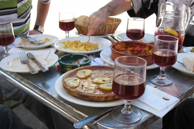 Spanish Tapas and Wine