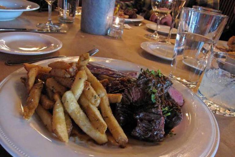 Latitude 48's Steak Frites