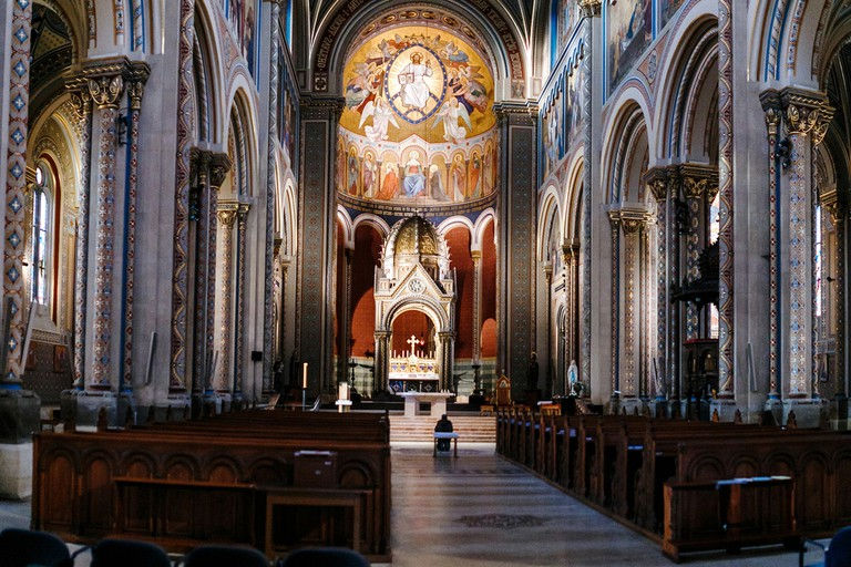 Inside St Cyril and Methodius Cathedral