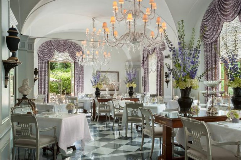 Il Palagio dining room