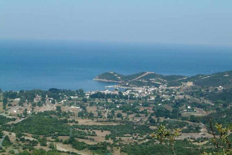 Panoramic view of the Municipality Stagira-Akanthos