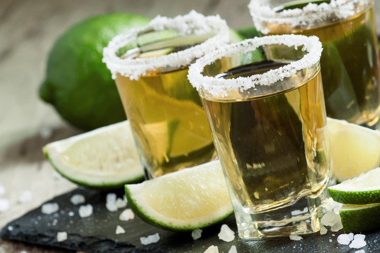 Gold Mexican Tequila