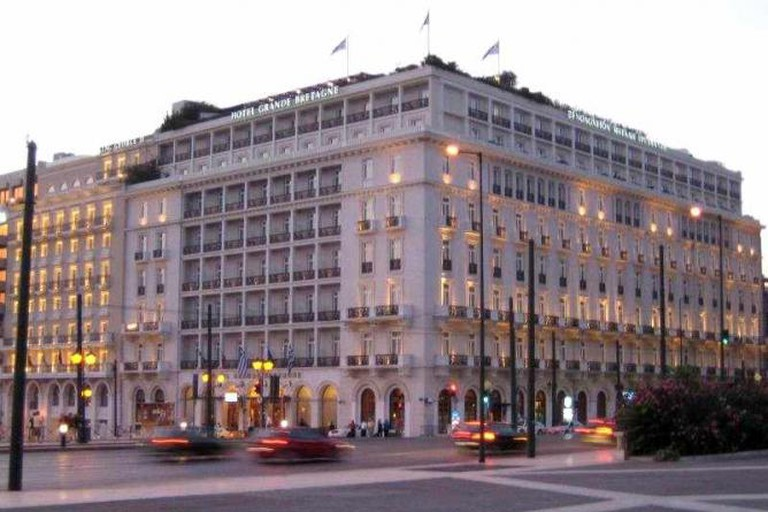 Hotel Grande Bretagne exterior