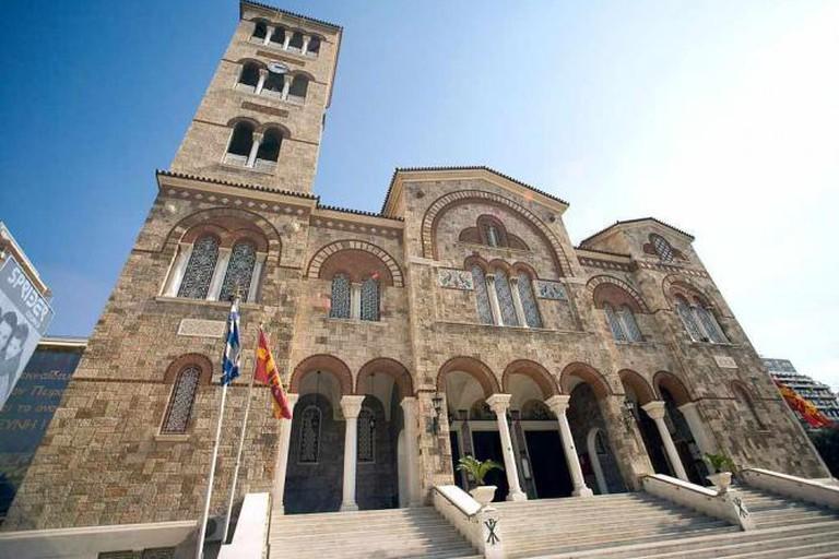 Orthodox basilica in Piraeus