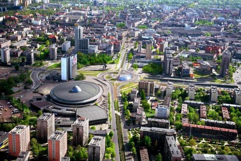 Katowice's city center