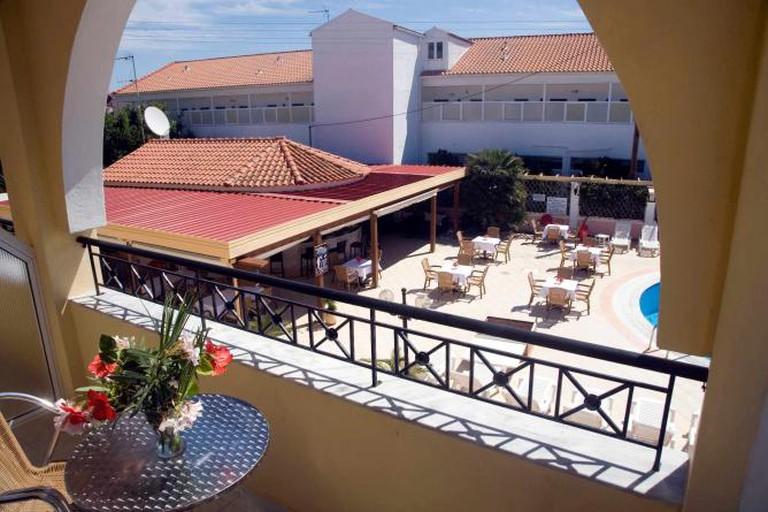 Konstantina Hotel balcony view
