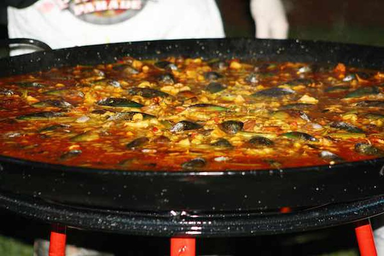 Paella at Casa Juancho